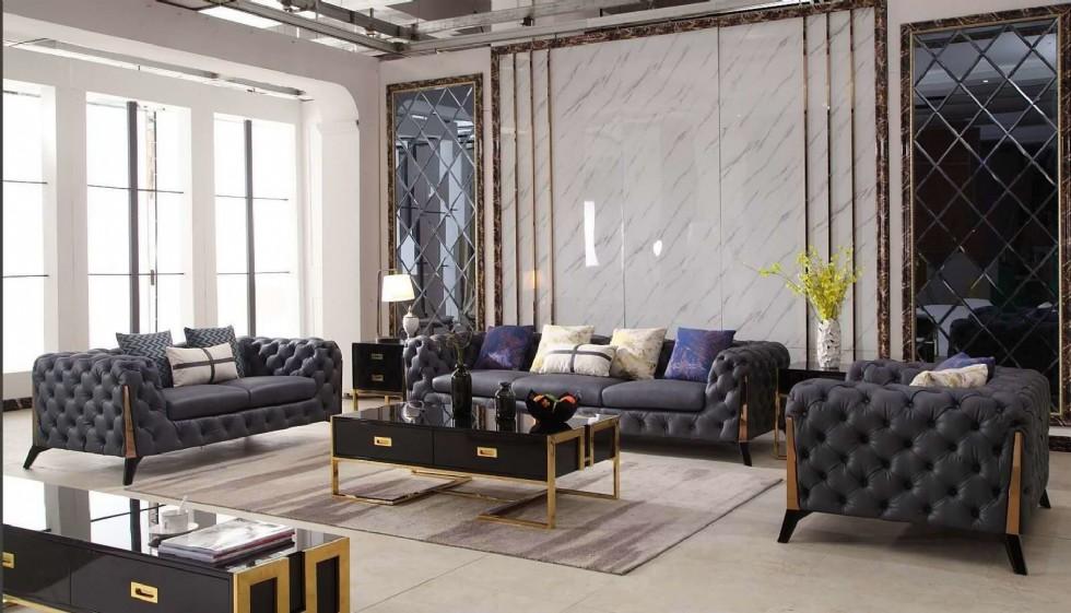 Modern Luxury Chester Koltuk Takımı İtalyan Tasarım