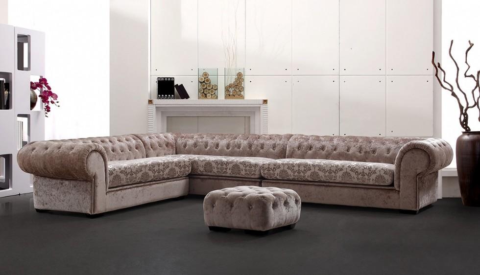 Kodu: 7907 - Luxury Chester Köşe Koltuk Takımı
