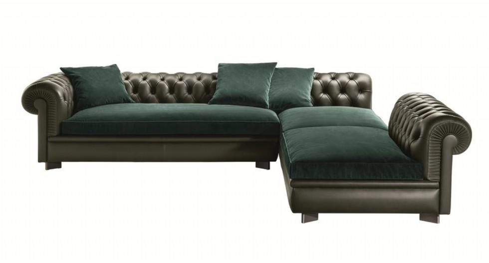 Kodu: 2803 - Luxury Chester Köşe Koltuk Tasarımları Özel Üretim