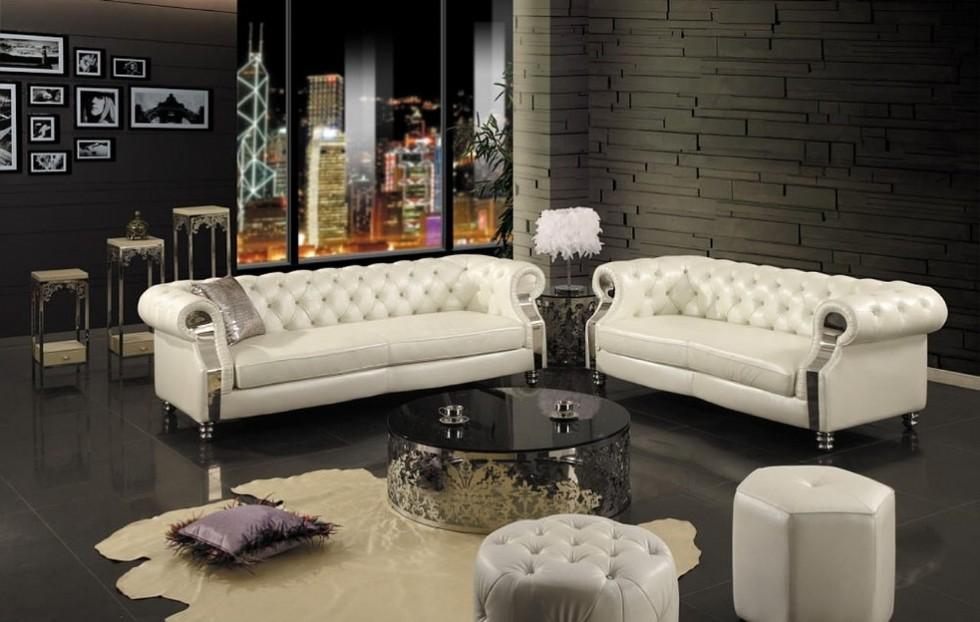Kodu: 7839 - Luxury Otel Lobi Tasarımı Chester Koltuk Takımı
