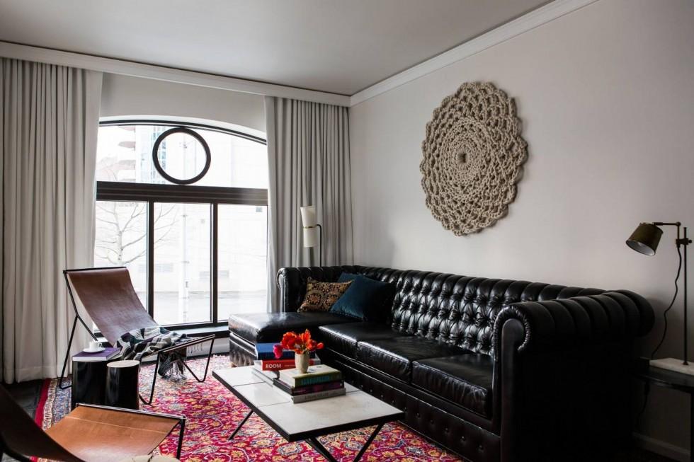 Kodu: 7845 - Otel İçin Chester Köşe Koltuk Tasarımı