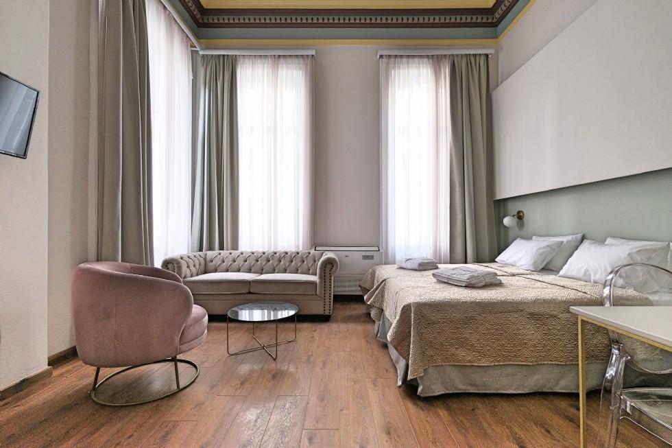 Kodu: 7841 - Otel Odası Tasarımı Chester Kanepe