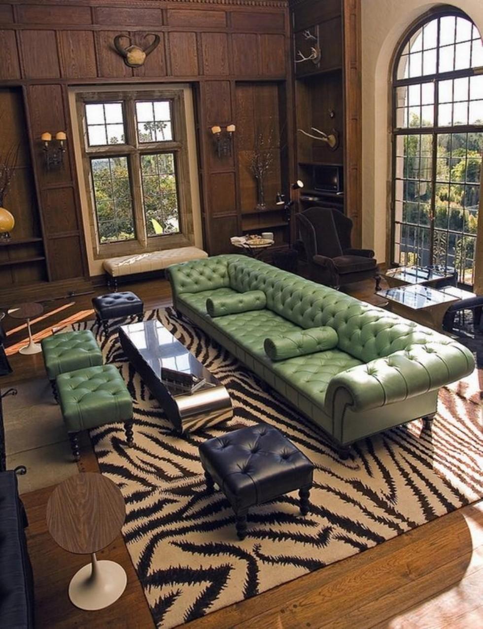 Kodu: 7849 - Özel Ölçü Büyük Chester Koltuk Otel Lobisi