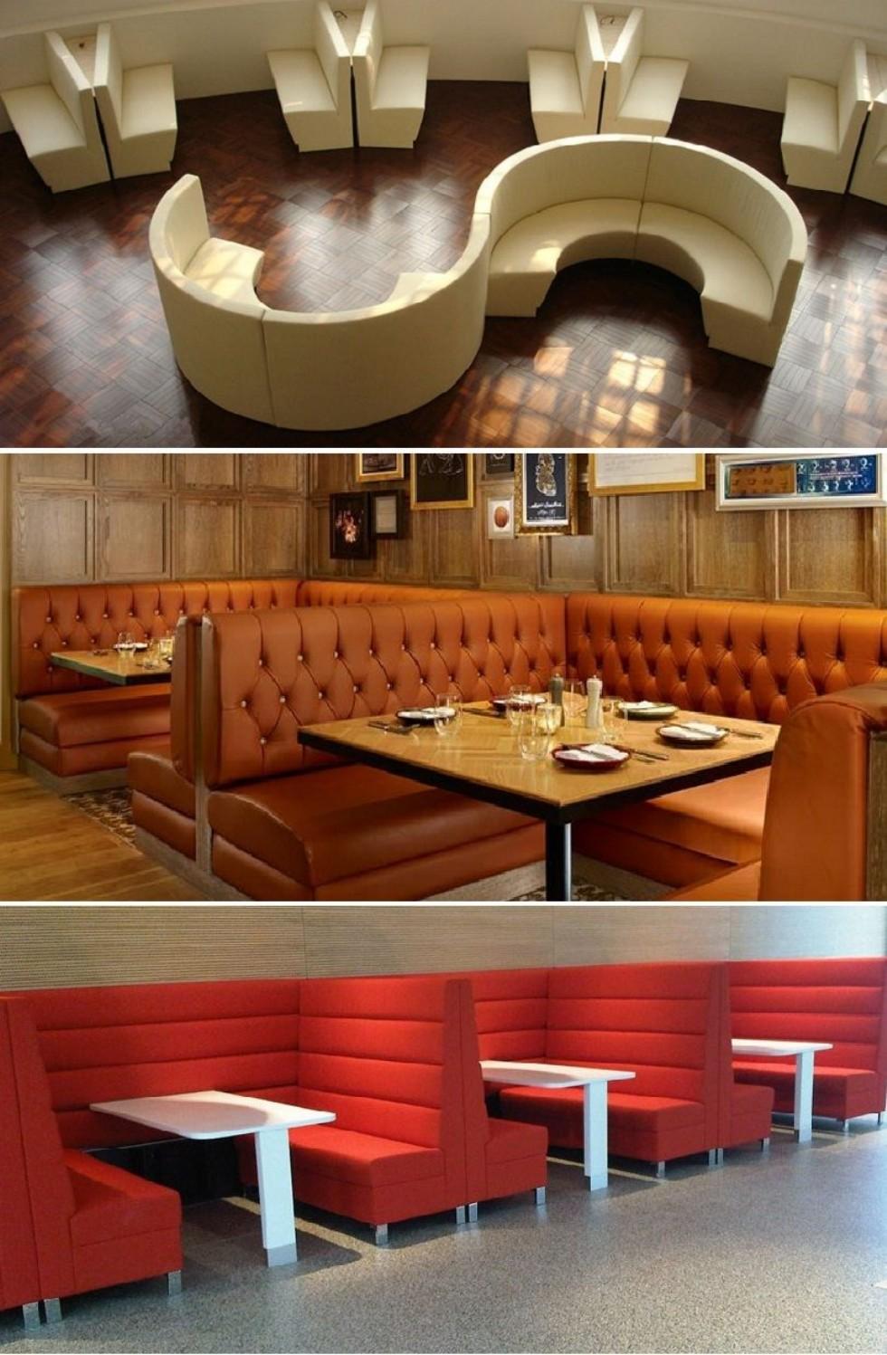 Kodu: 7869 - Özel Restoran Sedir Koltuk Tasarımları Chester Modeller