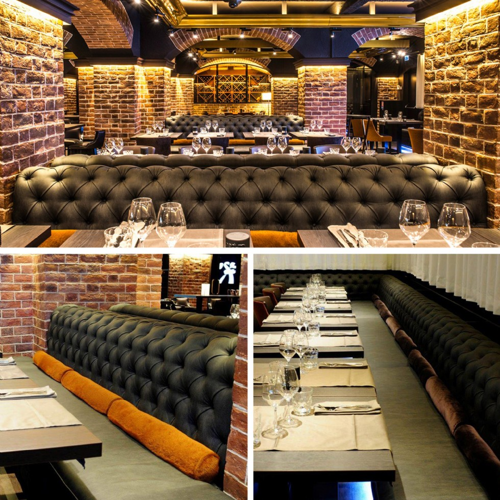Kodu: 7865 - Restoran Kafe Lüks Chester Koltuk Sedir Tasarımları