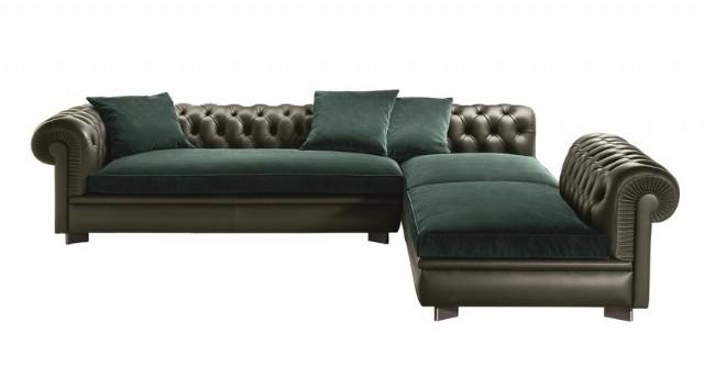 Luxury Chester Köşe Koltuk Tasarımları Özel Üretim