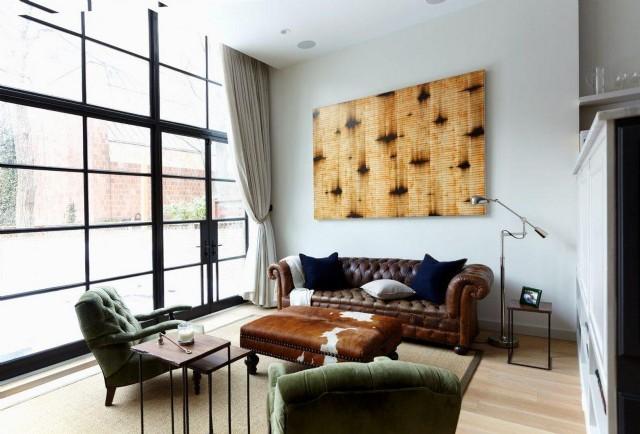 Otel Odası Tasarımı İki Berjerli Chester Koltuk