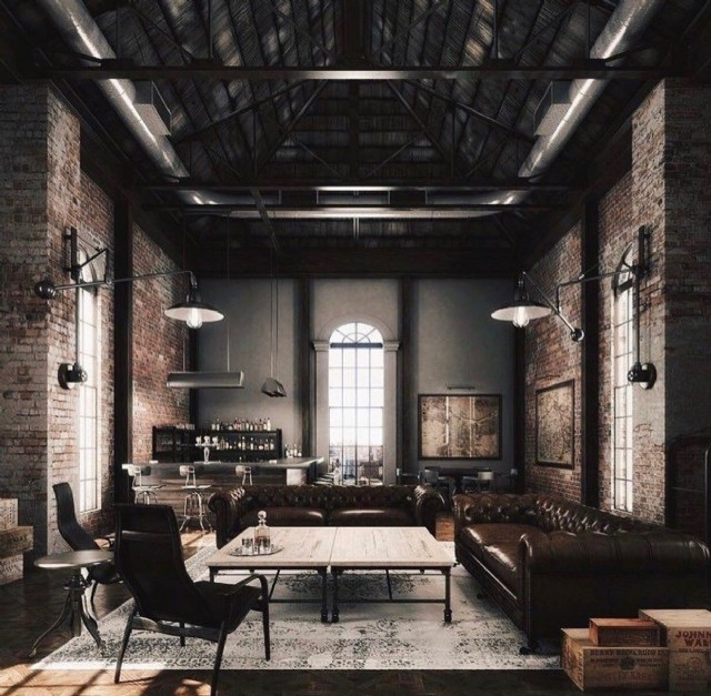 Özel Üretim Deri Chester Koltuk Modelleri Cafe Restoran Bar Tasarımı