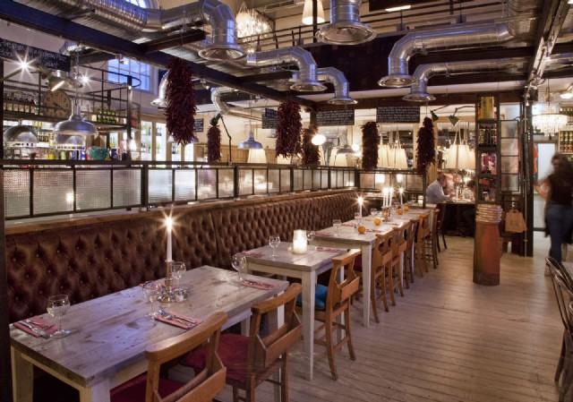 Restoran Chester Sedir Koltuk Ahşap Masa Ve Sandalyeler