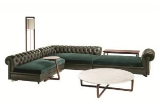 Chester Köşe Koltuk Özel Dekoratif Modüler Klasik Modern Tasarım